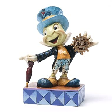 Disney Traditions by Jim Shore Jiminy Cricket from Pinocchio Figurine  Official Conscience  (4031474)