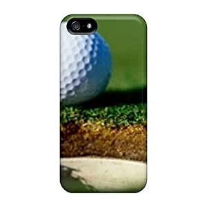 Luoxunmobile333 Snap On Hard Cases Covers Golf Ball Home Protector For Iphone 5/5s