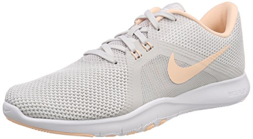 Nike Flex TR8 Women's Training Shoe (7.5, Vast Grey/Crimson Tint-White)