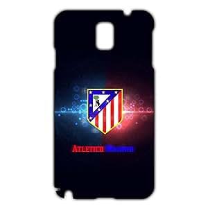 DIY Design FC Atletico De Madrid FC Team Phone Case Cover For Samsung Galaxy Note 3 3D Plastic Phone Case