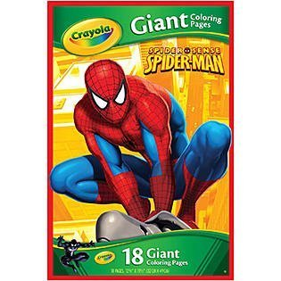 Crayola Marvel Spiderman Giant Coloring Pages
