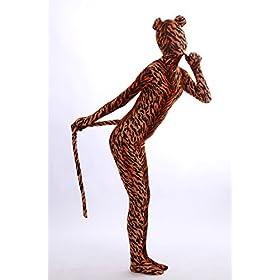 - 41eYUc2XdML - Nedal Lycra Tiger Bodysuit Halloween Cosplay Zentai Aanimal Costume For Kids