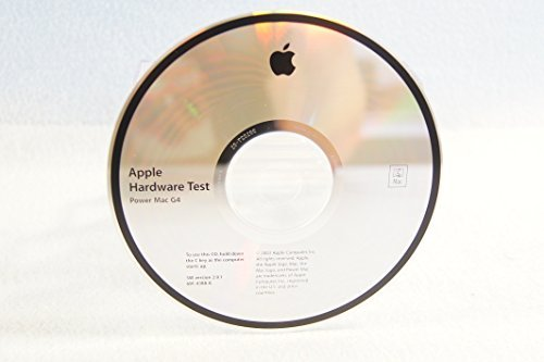 Apple Hardware Test Power Mac G4: Genuine Macintosh Mac Part Number: 691-4388-A: SW Version 2.0.1-Apple Operating System Computer Software Program Replacement Disc PC