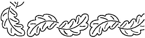 Quilt Stencils By Bobbie Smith-2'' Leaf Border 4''X1 1 pcs sku# 644522MA by Sten Source