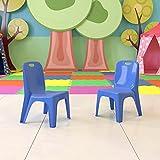 Flash Furniture 2 Pack Blue Plastic Stackable