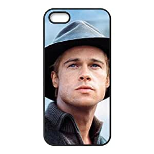 Brad Pitt For iPhone 5, 5S Cases Cell phone Case Vagd Plastic Durable Cover
