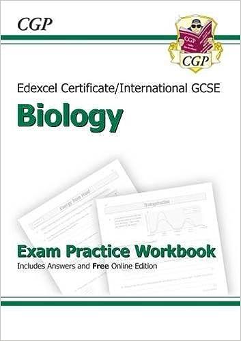 Edexcel International GCSE Biology Exam Practice Workbook