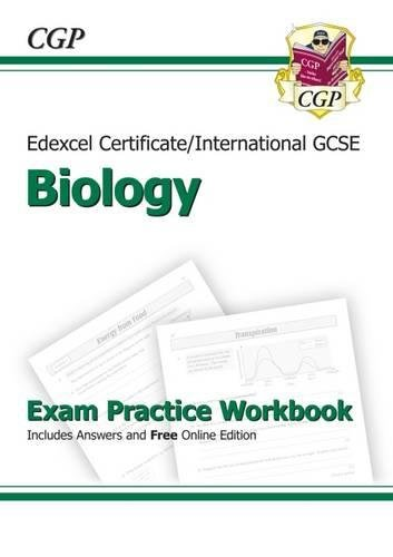 Edexcel International GCSE Biology Exam Practice Workbook with Answers (A*-G Course)