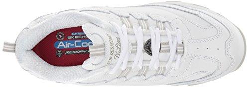 Skechers Da Lavoro Donna Dlites Slip-resistente In Piscina Per Scarpa Da Lavoro Bianca