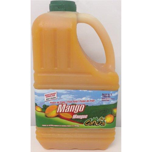 Mango Fruit Pulp Puree Frozen - 64 oz (Pack of 6)