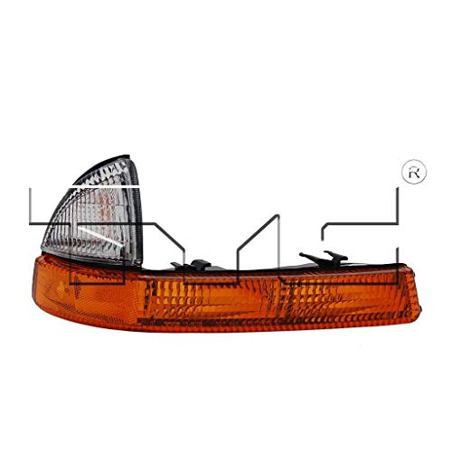 CarLights360: Fits 1998-2004 Dodge Dakota Turn Signal/Parking Light Assembly Passenger Side (Right) NSF Certified w/Bulbs - Replacement for CH2521135 (Vehicle Trim: From 08/1998)