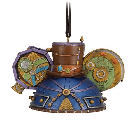 Disney Steampunk Top Hat Ear Hat Ornament Limited Edition