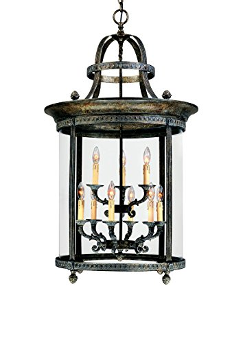 World Imports Lighting 1609-63 Chatham 9-Light Hanging Lantern, French Bronze