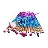 WEUIE 20 Pieces Makeup Brush Set Professional Face Eye Shadow Eyeliner Foundation Blush