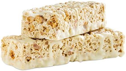 WonderSlim Low-Carb 15g Protein Diet Bar - Salted Toffee Pretzel - High Fiber Weight Loss Snack Bar - Gluten Free (7 Count