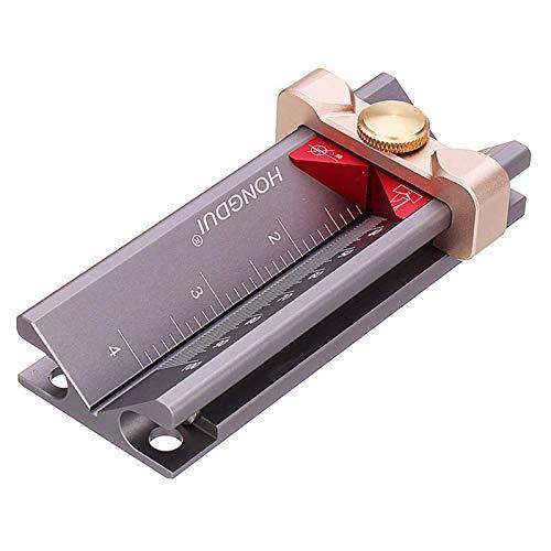 다기능 드릴 깊이 측정 게이지 알루미늄 합금 제한 반지 드릴 깊이 중지 0-100MM