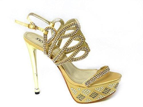 Cheville Femme Bride Fille 2 3909 Gold de SKO'S T7gEqTw
