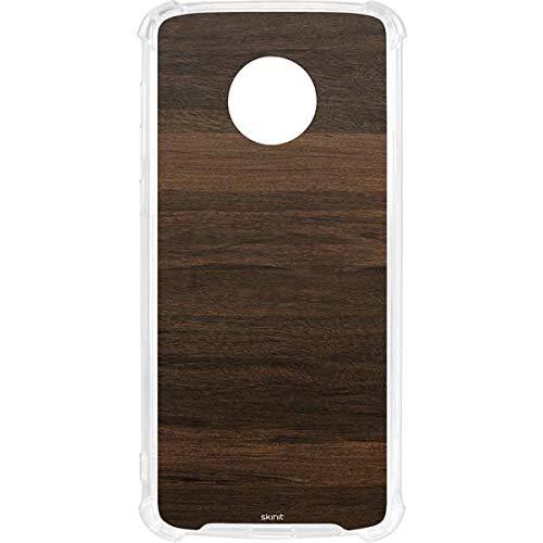 buy popular 588bb 9dab7 Amazon.com: Skinit Kona Wood Moto G6 Clear Case - Skinit Clear Case ...