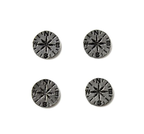 Quality Handcrafts Guaranteed Compass Tuxedo Studs by Quality Handcrafts Guaranteed (Image #9)