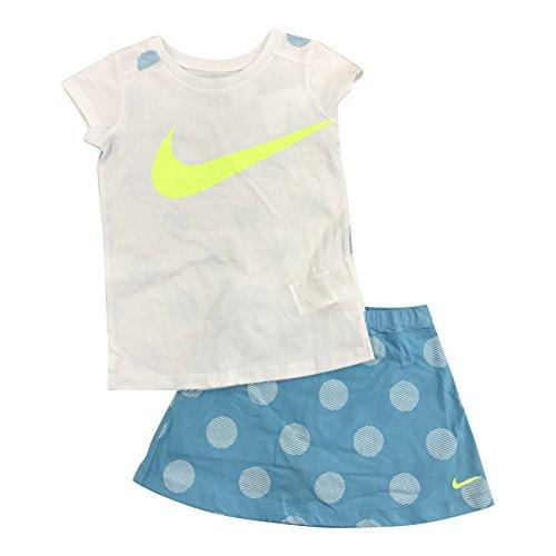 Nike Swoop Girls 2 piece set (6, Comet Blue)