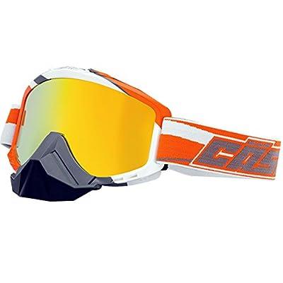 Castle Force SE X2 Snowmobile Goggles-Orange