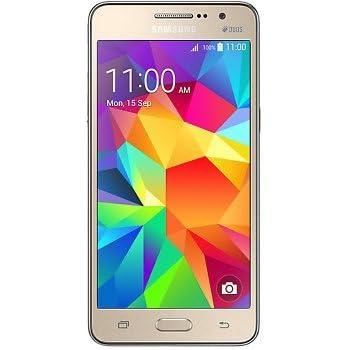 Samsung Galaxy Grand Prime Dual Sim Factory Unlocked Phone - Retail Packaging - Gold(International Version)