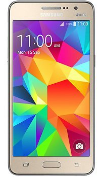 Samsung Galaxy Grand Prime Dual Sim Factory Unlocked Phone - Retail Packaging - Gold(International Version)