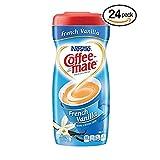 Nestle Coffee-mate Coffee Creamer, French Vanilla, 15oz powder creamer - Pack of 24