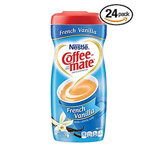 Nestle Coffee-mate Coffee Creamer, French Vanilla, 15oz powder creamer - Pack of 24 by Nestle Coffee Mate (Image #6)