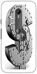 Diseñador Snoogg Money Bank Trasera Protectora Cubierta Del Caso Para Moto G ...