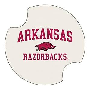 Thirstystone University of Arkansas Car Cup Holder Coaster, 2-Pack