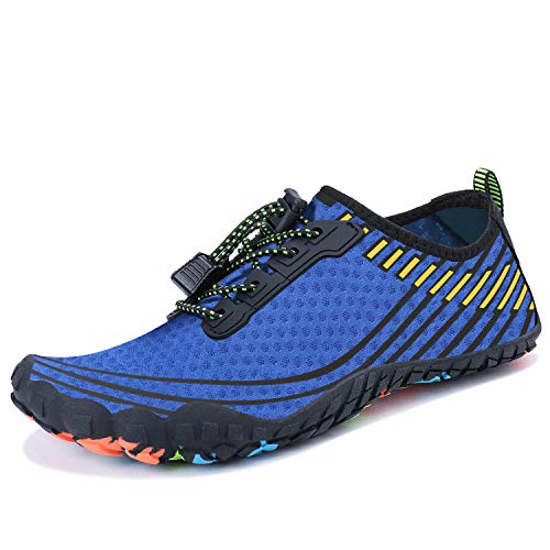 MAYZERO Summer Water Shoes Men Women Quick Drying Swim Surf Beach Pool Shoes Wide Toe Hiking Aqua - Shoes Step Aerobic