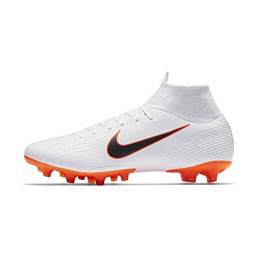 Uomo PRO Nike VI Superfly Mercurial Chrome Scarpe Calcio White O total 107 AG da Bianco q8U8f1