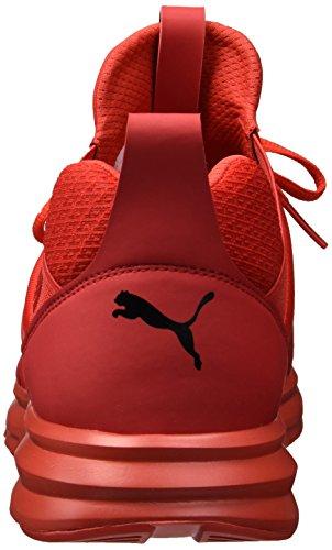 Puma Mens Enzo Bred Sneaker Högrisk Röd