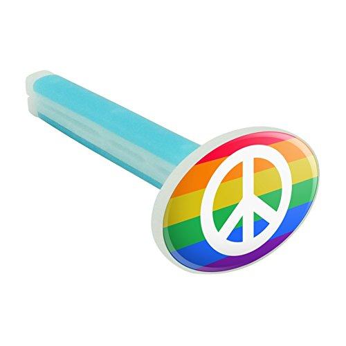 Peace Rainbow LGBTQ Symbol Car Air Freshener Vent Clip - Fresh Linen Scent