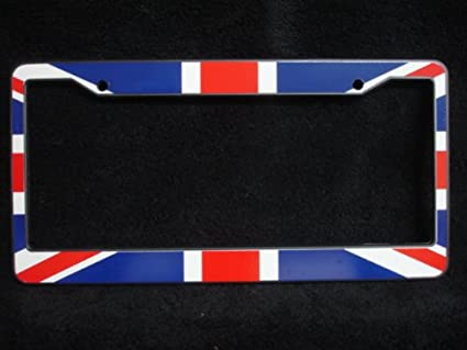 Amazon.com: Car License Plate Holder/Frame : British \