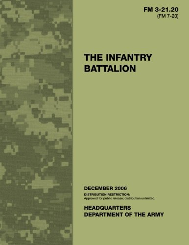 The Infantry Battalion Department Of The Army 9781494827380