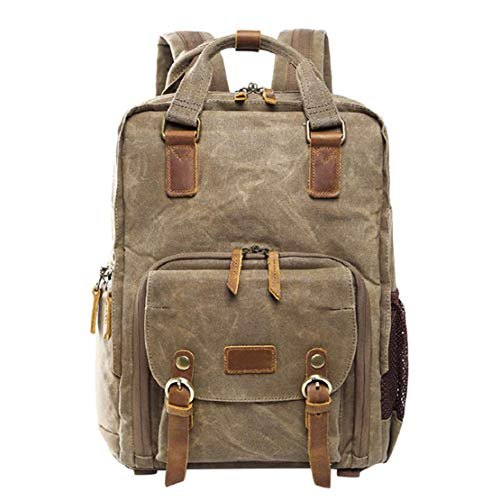 Photography Lens Camera Backpack Waterproof Canvas Bag Laptop and Accessories for Outdoor Travel Hiking by Lowprofile (Games Like Portal 2 For Xbox 360)