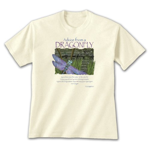 Dragonfly Clothing Company Mens Shirts - Advice from A Dragonfly ~ X-Large
