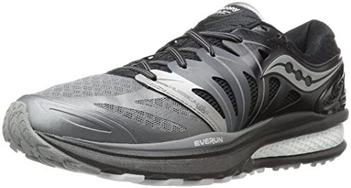 Saucony Hurricane ISO 2 Reflex Black//Grey Men/'s Running Shoes S20333-1