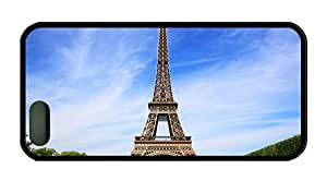 Cool the best iphone 5S cases Attractions the Eiffel Tower in Paris France TPU Black for Apple iPhone 5/5S