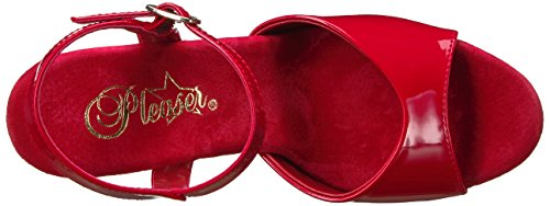 Sandales 809ln Red Red Femme Pat Pleaser Plateforme Flamingo pEBxZq