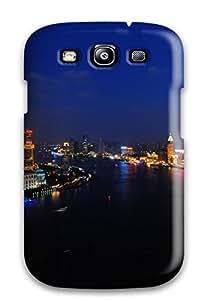 Pretty Galaxy S3 Case Cover/ Shanghai Huangpu River Series High Quality Case