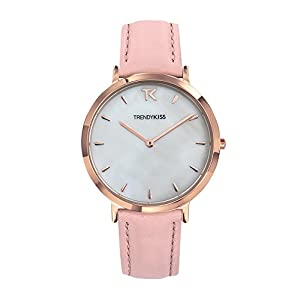 Trendy Kiss Women's Analogue Quartz Watch with Leather Strap TRG10089-01