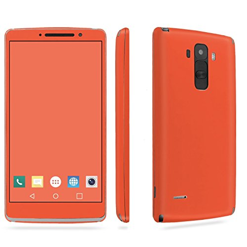 LG [G Stylo] Phone Skin - [SkinGuardz] Full Body Scratch Proof Vinyl Decal Sticker with [WallPaper] - [Tangerine] for LG [G Stylo] [LS770 H631] -  SkinGuardz for LG G Stylo, SF-LGLS770-T5-MA-X190