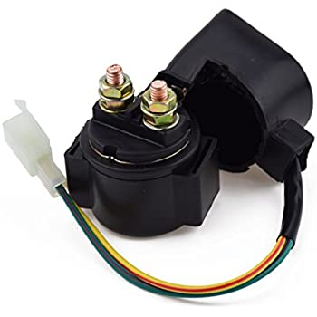Amazon.com: SOLENOID STARTER RELAY for Chinese made 50cc 70cc 90cc on
