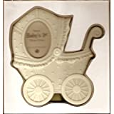 Baby's 1st: Bisque Stroller Picture Frame by Department 56