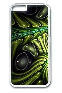 Alien Skin9 PC Case Cover for iphone 6 plus 5.5 inch Transparent