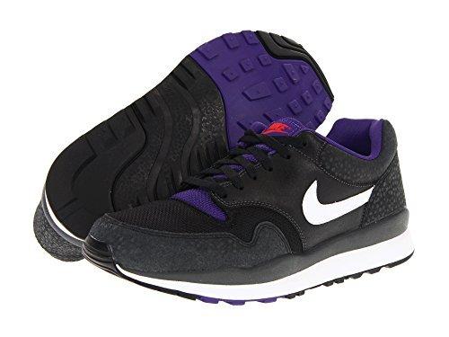 Nike Mens Air Safari Le Sneaker, Antracite / Nero / Corte Viola / Bianco, 15 Giorni