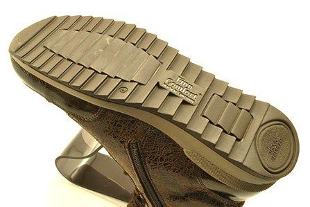 finncomfort(フィンコンフォート) ハイカットシューズ 2369 TOBLACH ブロンズエナメル?マロンクラッシュ
